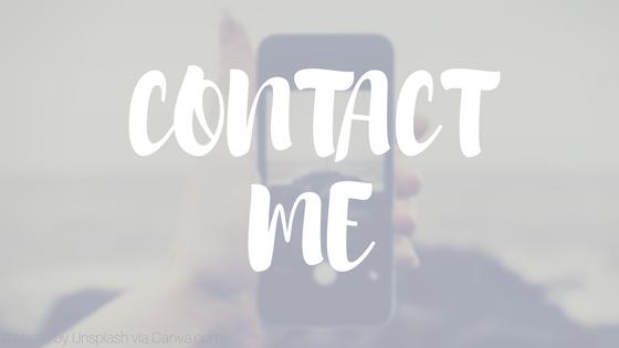 Contact Me Graphic | HISsparrowBlog