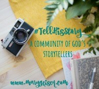 Tell His Story linkup
